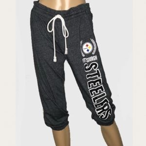 Pittsburgh Steelers Cropped Joggers